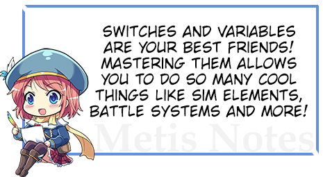 Learning about Switches and Variables